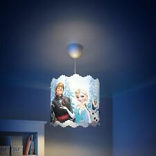Disney Frozen ceiling light shade (lamp shade only) blue