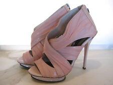 Wayne Cooper Sz 39 8.5 8 ½ Designer Pink Heels Shoes