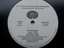 Afro Union Featuring Daddy Shakespeare - It´s Alright