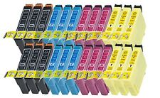 24 Ink Cartridges For Epson Workforce WF-3620DWF WF-3640DTWF WF-7110DTW WF-7610