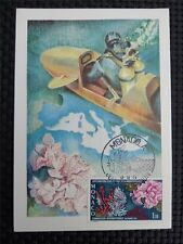 MONACO MK 1974 CORAL DIVER KORALLEN ANEMONE MAXIMUMKARTE MAXIMUM CARD MC c1139
