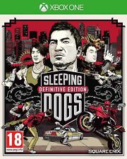 Sleeping Dogs Definitive Edition with Artbook Xbox One NEW DISPATCH TODAY BY 2PM