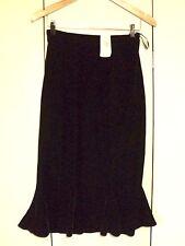 laura ashley  stretch velvet skirt  NWT $169  brown