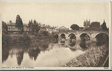 # 350 Hereford Wye Bridge & Cathedral VGC Unposted
