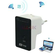 750Mbps Wireless 2.4/5Ghz Dual-Band Router Network WiFi Range Extender Repeater