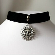 Vintage Women Jewelry Leon Movie Matilda Choker Necklace Natalie Portman Silver