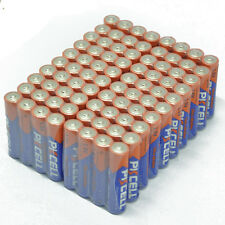 Lot of 80 New Alkaline Dry Cell Batteries LR03 AAA 1.5V Wholesale Retail Packs
