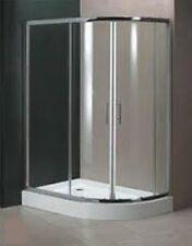 Shower Enclosure Tray Quadrant Walk In Easy Clean Safe Glass Bathroom 800 x 1200