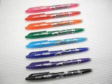 8 Colors set Pilot FriXion 0.7mm Fine Erasable Roller Ball Point Pen