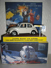 "JAMES BOND! ""ON HER MAJESTIY´S SECRET SERVICE"" VW BEETLE IN GREAT BOX / DISPLAY"