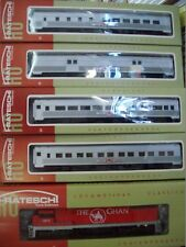 FRATESCHI GHAN TRAIN PACK 4 CARS AND LOCOMOTIVE