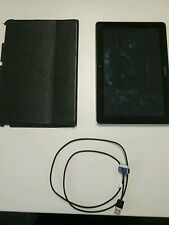Huawei Tablet MediaPad 10 FHD 32GB, Wi-Fi + 4G, 10.1in Full HD + Leather Cover