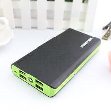 50000mAh Externer 4 USB Ladegerät Power Bank Zusatzakku Batterie Akku Für Handy