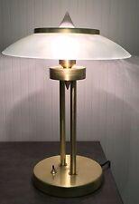 Paul Neuhaus Tischleuchte, messing matt Tisch-Leuchte Lampe
