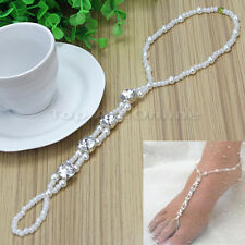 Barefoot Sandal Foot Jewelry Wedding Anklet Bracelet Toe Ring for Lady Women
