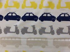 john lewis here there and everywhere vehicles by the metre cotton fabric