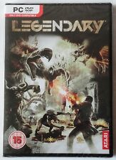 LEGENDARY PC DVD-ROM SHOOTER GAME brand new & sealed UK
