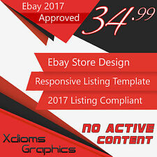Ebay Store Design & Auction Listing Template Professional Package 2017 Compliant