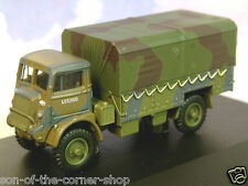 OXFORD 1/76 BEDFORD QLD BRITISH ARMY TRUCK 1ST ARMOURED DIVISION 1941 76QLD002