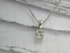 Diamond Solitaire Pendant, Diamond Pendant, Single Diamond Pendant 0.22ct