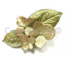 Hydrangea Lapel Tack Pin by Michael Michaud for Silver Seasons 5925