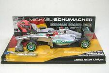 Mercedes No AMG F1. 7 M.Schumacher Hockenheimring Showcar 2012