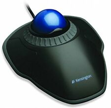 Kensington Orbit Optical Wired USB Trackball Mouse with Scroll Ring - Black