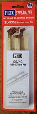 HO Scale - PECO SL-8356 Lineside KIT INSPECTION PIT with Code 83 NS Rail