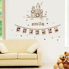 Photo Romantic Removable Mural Vinyl Decal Wall Sticker Art Bed Room Home Decor