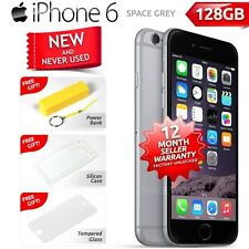New in Sealed Box Factory Unlocked APPLE iPhone 6 Space Grey 128GB 4G Smartphone