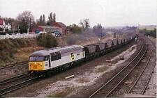 Diesel Locomotive Class 56 56095 HARWORTH COLLIERY Clay Cross1987 photo postcard