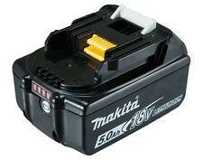 MAKITA BL1850B 5.0AH 18V LXT LI-ION BATTERY WITH BATTERY INDICATOR  B/NEW BL1850