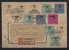Großräschen 13-24 A (o. 19,21) + 25 I + 26 I auf R-Brief nach Berlin (B04102)