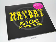 4 LP: Mayday - 25 Years The History Of Rave, Limited Edition, NEU & OVP (A5/5)