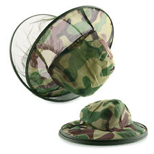 Insect Bee Mosquito Fly Net Mesh Face Fishing Outdoor Hiking Hat Protector Cap