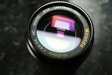 Miranda 70 - 210mm F4.5 - 5.6MC Macro lens Olympus OM Fit