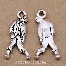 30pc Tibetan Silver Charm Pendant Zombie Accessories Jewellery Making PL1184
