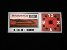 Ford Motorcraft Lighted Sign/Clock