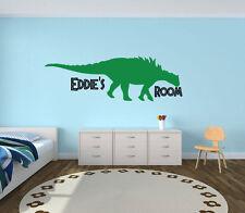 Dinosaur Boys Bedroom wall sticker, jurassic world, jurassic park
