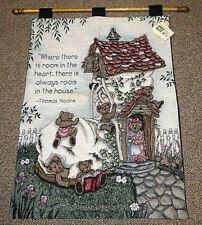 Boyds Bears The More The Merrier Tapestry Wall Hanging