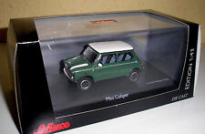 Mini Cooper grün (Almond green) in 1:43 v.Schuco