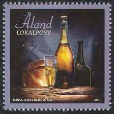 Aland 2011 Champagne/Wine/Alcohol/Diving/Wrecks/Food/History 1v (n41613)