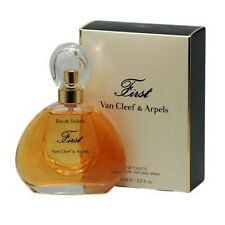 FIRST 100ml EDT  Spray Perfume For Women By VAN CLEEF AND ARPELS