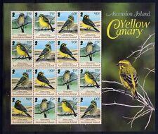 ASCENSION 2010 Vögel Birds Oiseaux Uccelli ZD-Kleinbogen **