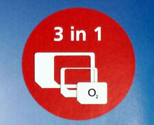 OFFICIAL O2 NETWORK PAY AS YOU GO SIM CARD SEALED CALLS TEXTS DATA 4G 02 lotD455