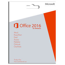 MS Office 2016 Professional Plus, 5 User/PC - Product Key