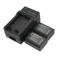 Mains Charger +2x 1080mAh Battery for Sony NP-FW50 A7R A7S NEX-6 NEX-7 SLT-A37