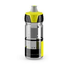 Elite Crystal Ombra Bike Cycling Squeezable Water Bottle 550 ml - Yellow