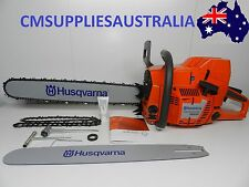"Husqvarna 395XP Chainsaw 93.6cc 24""Bar + 28"" bar and 2 chains + extra sprocket"