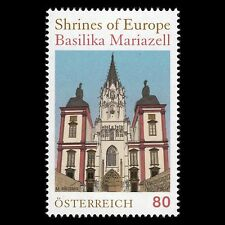 """Austria 2016 - Shrines of Europe """"The Basilica of Mariazell"""" Architecture - MNH"""